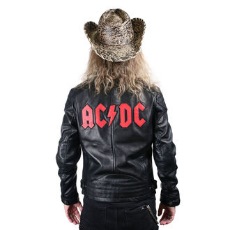 bőrdzseki AC-DC - LNTC BLACK -, AC-DC