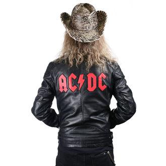 bőrdzseki AC-DC - LNTC BLACK - NNM