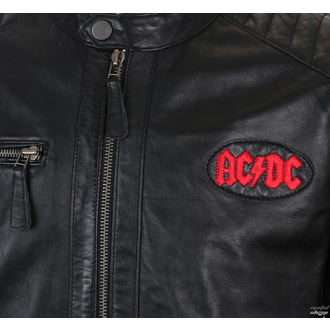 bőrdzseki AC-DC - LNTC BLACK -