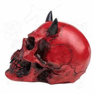 ALCHEMY GOTHIC Dekoráció - Crimson Demon Skull, ALCHEMY GOTHIC