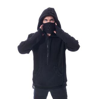 HEARTLESS Férfi kapucnis pulóver - CROSSOVER - FEKETE