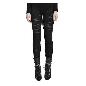 PUNK RAVE Női nadrág (leggings) - Ripped, PUNK RAVE