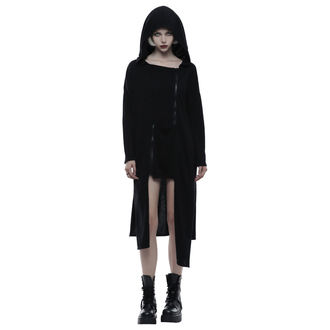 kapucnis pulóver női - Black Chaos - PUNK RAVE, PUNK RAVE