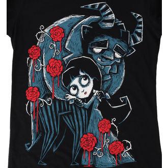 hardcore póló női - Misery and the Beast - Akumu Ink, Akumu Ink