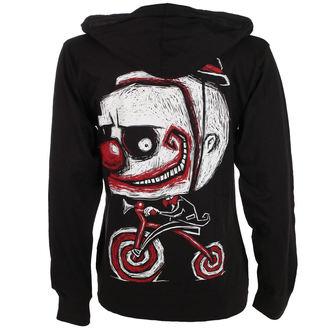 kapucnis pulóver unisex - Creep The Clown - Akumu Ink, Akumu Ink