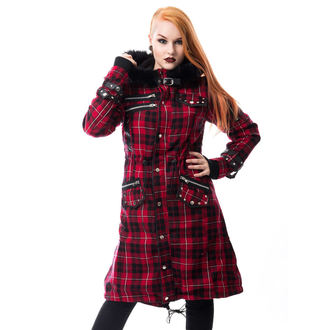 POIZEN INDUSTRIES Női kabát - DARE - PIROS JELÖLJE BE, POIZEN INDUSTRIES