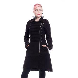 Női kabát POIZEN INDUSTRIES - DARK ROMANCE - FEKETE, POIZEN INDUSTRIES
