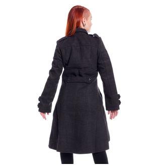 Női kabát POIZEN INDUSTRIES - DARK ROMANCE - SZÜRKE, POIZEN INDUSTRIES