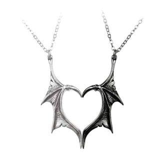 Függő nyaklánc ALCHEMY GOTHIC - Darkling Heart