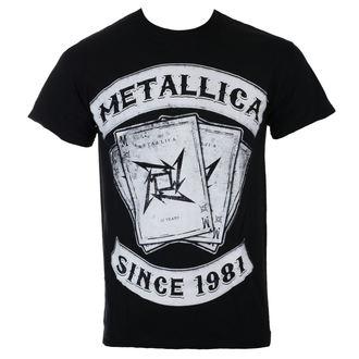 metál póló férfi Metallica - Black Dealer - - 10395