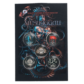 Meshuggah Kitűzők - 1Aolent Sleep Of Reason, RAZAMATAZ, Meshuggah