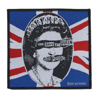 Sex Pistols Felvarró - God Save The Queen - RAZAMATAZ, RAZAMATAZ, Sex Pistols