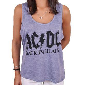 AC  /  DC női felső - BACK IN BLACK - LEGEND, LEGEND, AC-DC