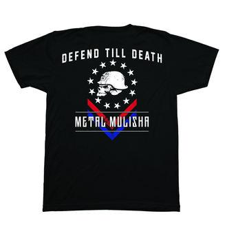 utcai póló férfi - DEFEND - METAL MULISHA, METAL MULISHA