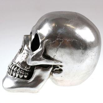 dekoráció Koponya - Silver - 78/5742 - SÉRÜLT, NNM