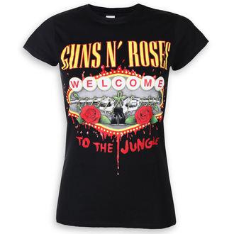 metál póló női Guns N' Roses - Welcome To The Jungle - ROCK OFF, ROCK OFF, Guns N' Roses