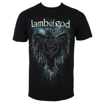 Lamb Of God Férfi póló - Phoenix - Fekete - ROCK OFF, ROCK OFF, Lamb of God
