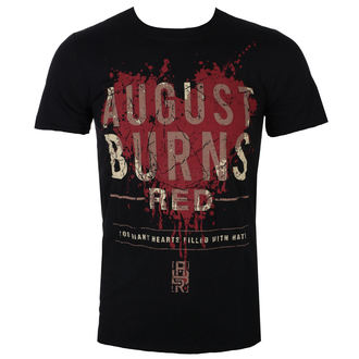 metál póló férfi August Burns Red - Heart Filled - ROCK OFF, ROCK OFF, August Burns Red