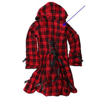 kabát női POIZEN INDUSTRIES - Alice - Piros - SÉRÜLT, POIZEN INDUSTRIES