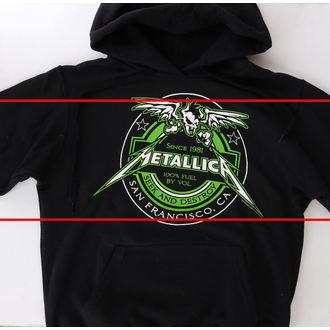 kapucnis pulóver férfi Metallica - Fuel Black - NNM, NNM, Metallica