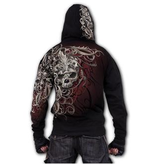 kapucnis pulóver férfi - SKULL SHOULDER WRAP - SPIRAL - W033M459