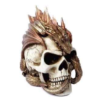 ALCHEMY GOTHIC Dekoráció  - Dragon Keeper's Skull, ALCHEMY GOTHIC