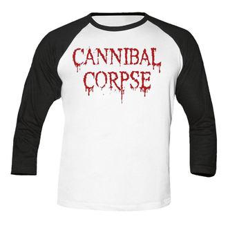 metál póló férfi Cannibal Corpse - Dripping logo BASEBALL - NUCLEAR BLAST, NUCLEAR BLAST, Cannibal Corpse