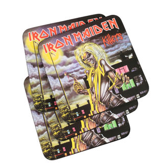 IRON MAIDEN poháralátét - ROCK OFF, ROCK OFF, Iron Maiden