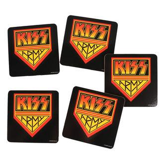 KISS poháralátét - ROCK OFF, ROCK OFF, Kiss