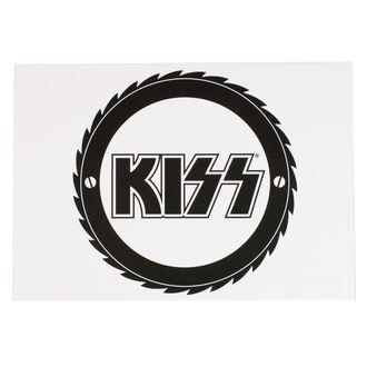 KISS Képeslap - CUTTER - ROCK OFF, ROCK OFF, Kiss