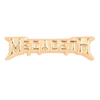 MEGADETH kitűző - ROCK OFF, ROCK OFF, Megadeth