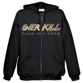 kapucnis pulóver férfi Overkill - Fuck you crew - NUCLEAR BLAST, NUCLEAR BLAST, Overkill
