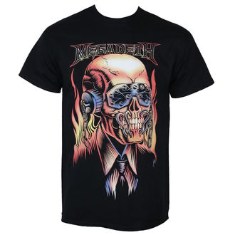 metál póló férfi Megadeth - FLAMING VIC - PLASTIC HEAD, PLASTIC HEAD, Megadeth