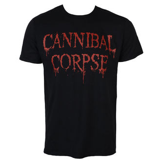 metál póló férfi Cannibal Corpse - DRIPPING LOGO - PLASTIC HEAD, PLASTIC HEAD, Cannibal Corpse