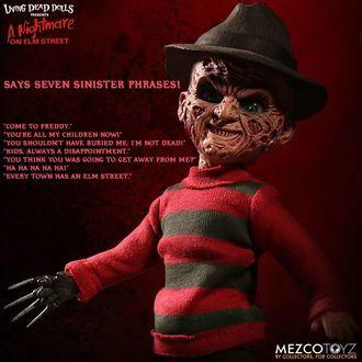 A Nightmare on Elm Street Szobrocska - Talking Freddy Krueger, NNM