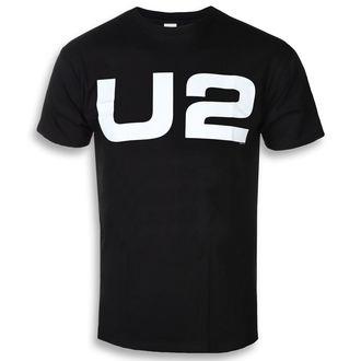 metál póló férfi U2 - WHITE LOGO - PLASTIC HEAD, PLASTIC HEAD, U2