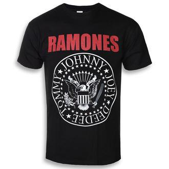 metál póló férfi Ramones - RED TEXT SEAL LOGO - PLASTIC HEAD, PLASTIC HEAD, Ramones