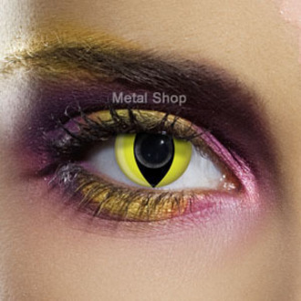 kontaktlencse YELLOW CAT EYE - EDIT, EDIT