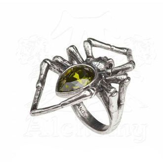 ALCHEMY GOTHIC Gyűrű - Emerald Venom, ALCHEMY GOTHIC