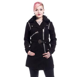 Női kabát POIZEN INDUSTRIES - ENDORA - BLACK , POIZEN INDUSTRIES
