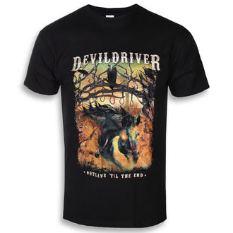 metál póló férfi Devildriver - Outlaws Til The End - NAPALM RECORDS, NAPALM RECORDS, Devildriver