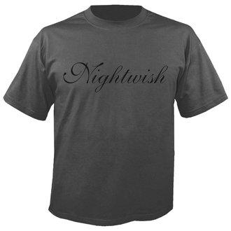 metál póló férfi Nightwish - Logo GREY - NUCLEAR BLAST, NUCLEAR BLAST, Nightwish