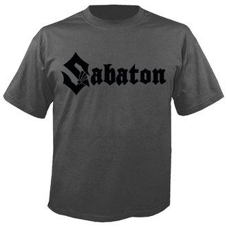metál póló férfi Sabaton - Logo GREY - NUCLEAR BLAST, NUCLEAR BLAST, Sabaton