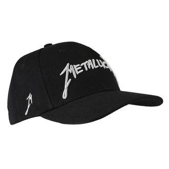 Metallica sapka - Garage - Ezüst logo Fekete, Metallica
