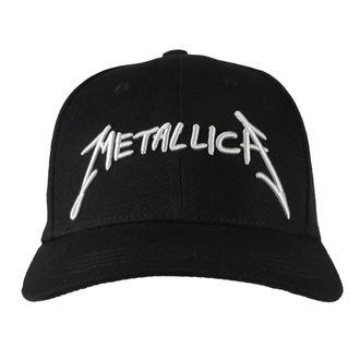 Metallica sapka - Garage - Ezüst logo Fekete, NNM, Metallica
