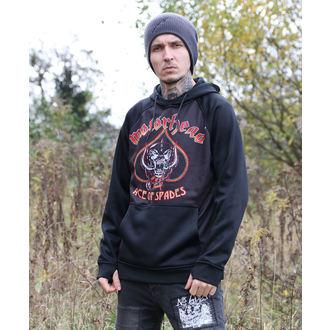 kapucnis pulóver férfi Motörhead - Black - 686