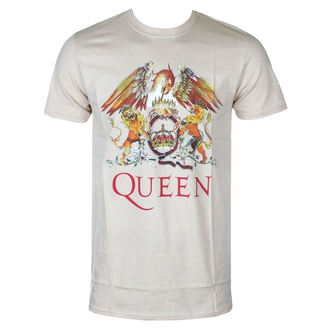 Férfi póló Queen - Classic Crest - ROCK OFF, ROCK OFF, Queen