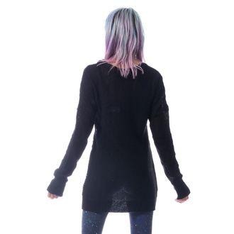 HEARTLESS Női pulóver - FRACTION - FEKETE, HEARTLESS