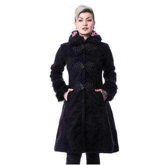 POIZEN INDUSTRIES Női kabát - FROZEN - FEKETE, POIZEN INDUSTRIES