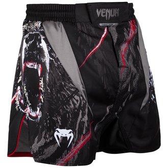 Venum Férfi bokszoló rövidnadrág - Grizzli - Fekete / fehér, VENUM